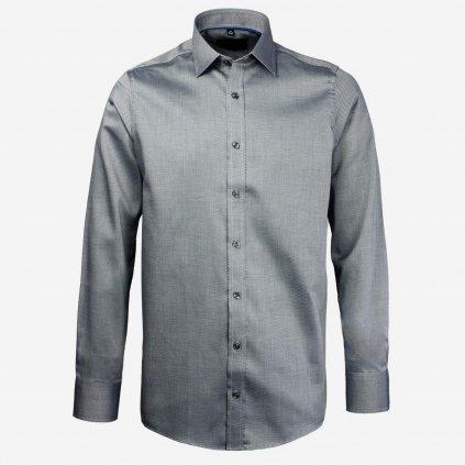 Čierno sivá košeľa
