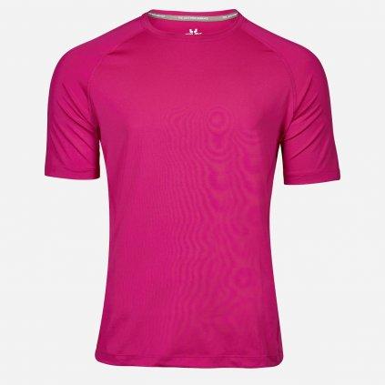 Ružové športové tričko pre mužov