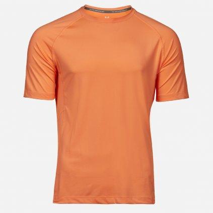 Oranžové športové tričko