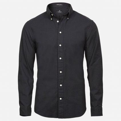 Čierna Oxford košeľa 1