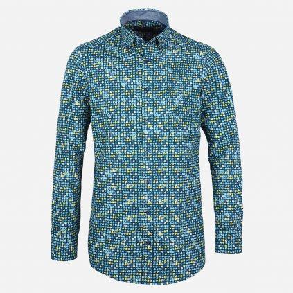 Blur print pánska košeľa