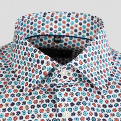 Vzorovaná košeľa, Slim fit