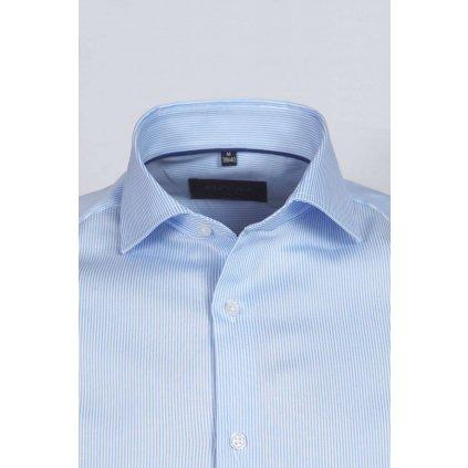 Svetlomodrá košeľa s prúžkom, Slim fit