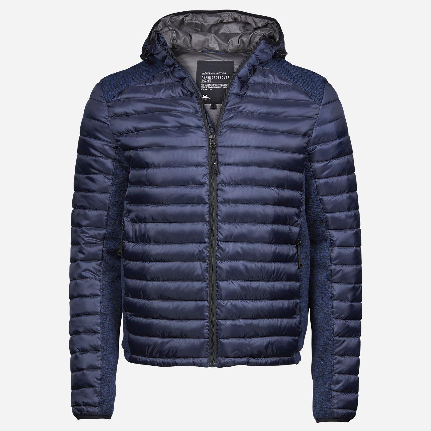 Tee Jays Tmavomodrá kombinovaná bunda Veľkosť: S