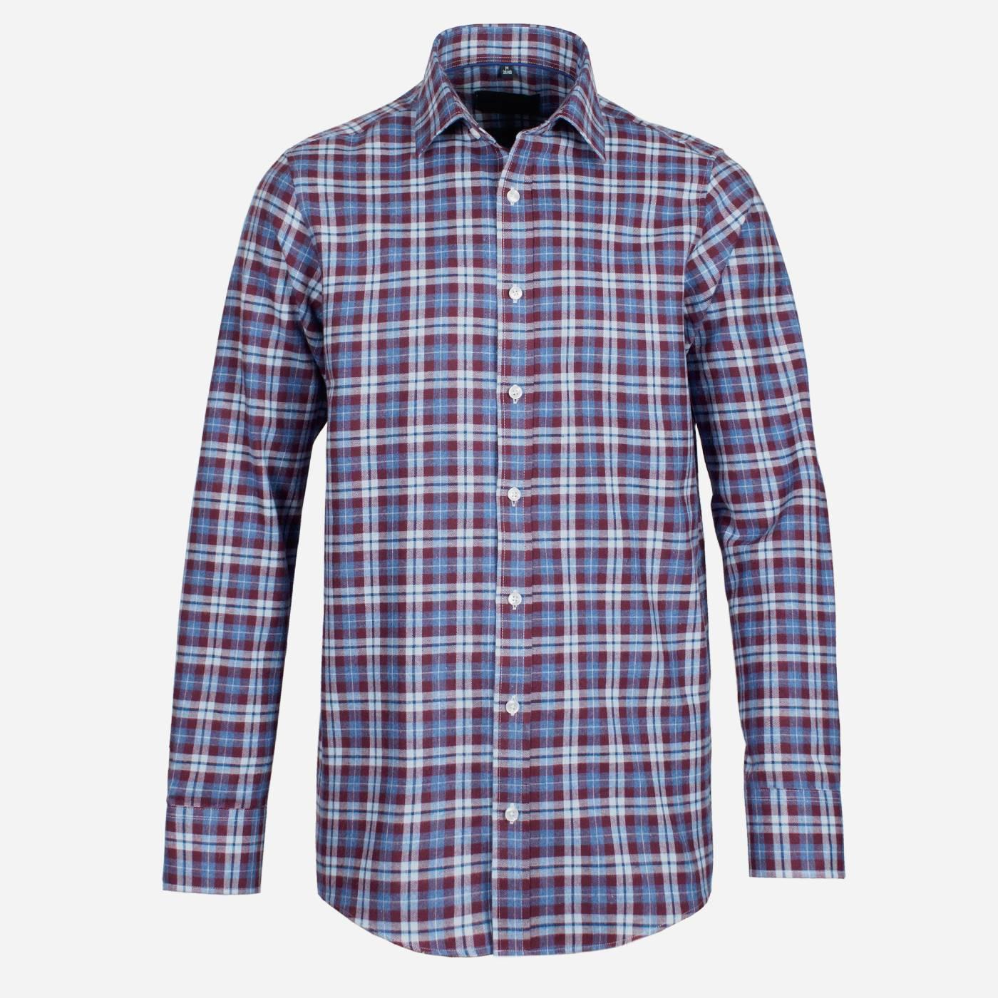 STEVULA Flanelová pánska košeľa, Regular fit Veľkosť: XXL 45/46