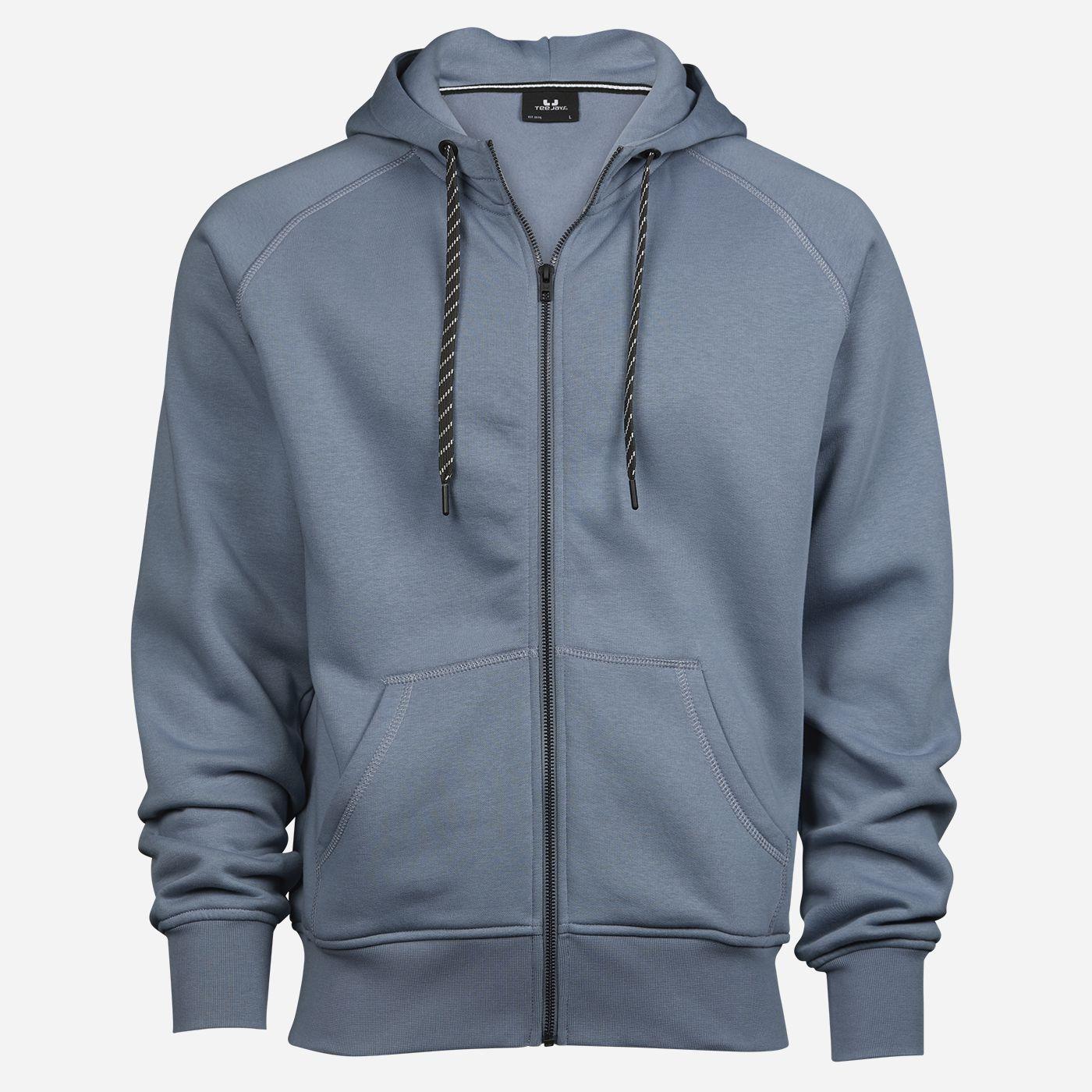 Tee Jays Modrosivá mikina - Egyptská bavlna Veľkosť: S