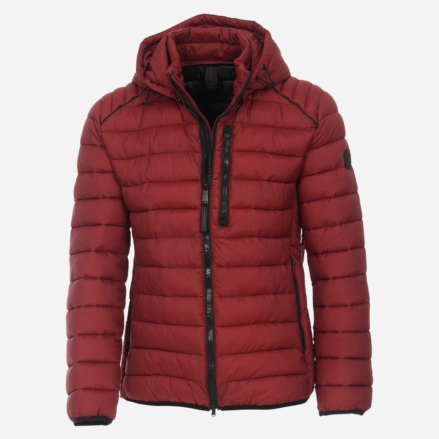 Bordová zimná pánska bunda, CASAMODA Veľkosť: L