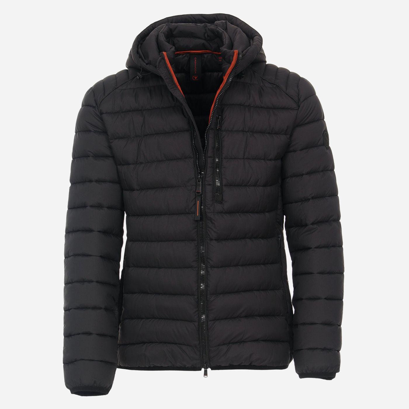 Čierna zimná pánska bunda, CASAMODA Veľkosť: L