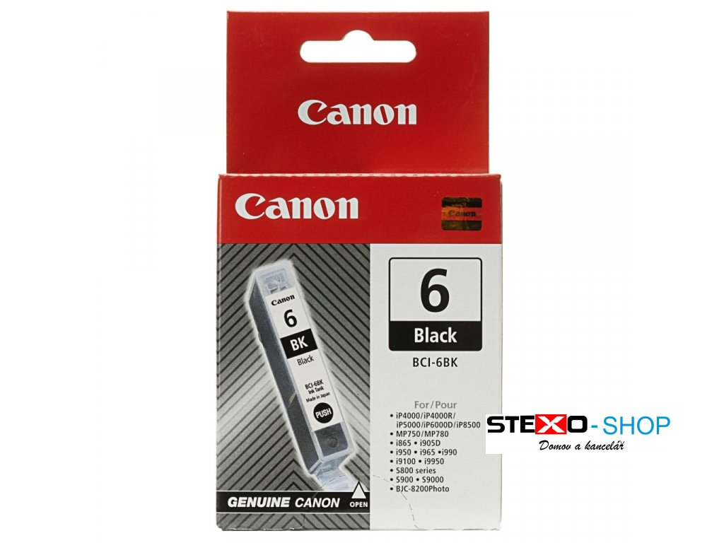 Canon BCI 6BK Black Ink Cartridge 1024x1024