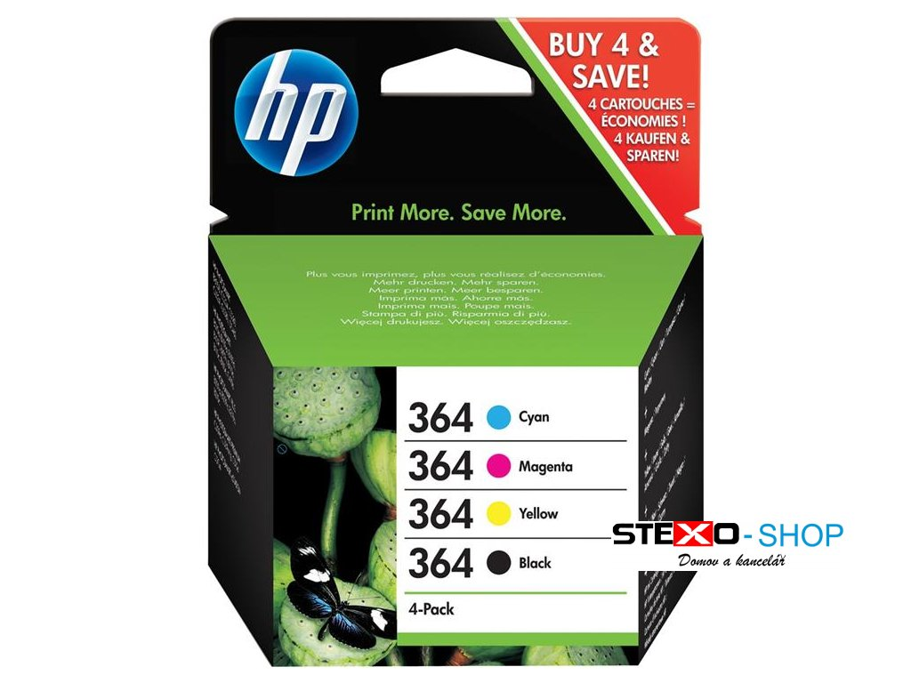 hp 364 cmyk ink cartridge combo content pack hp 364 cmyk ink cartridge combo content pack ie342587