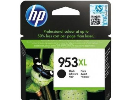 hp 953xl black high yield ink cartridge l0s70ae