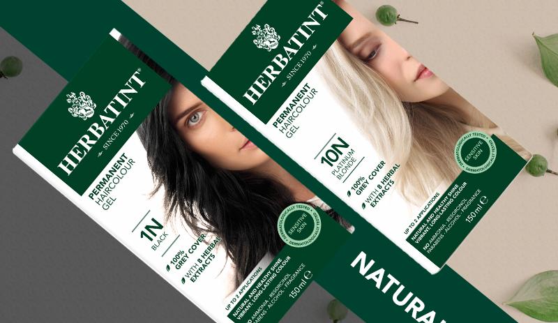 Aplikace barev na vlasy Herbatint