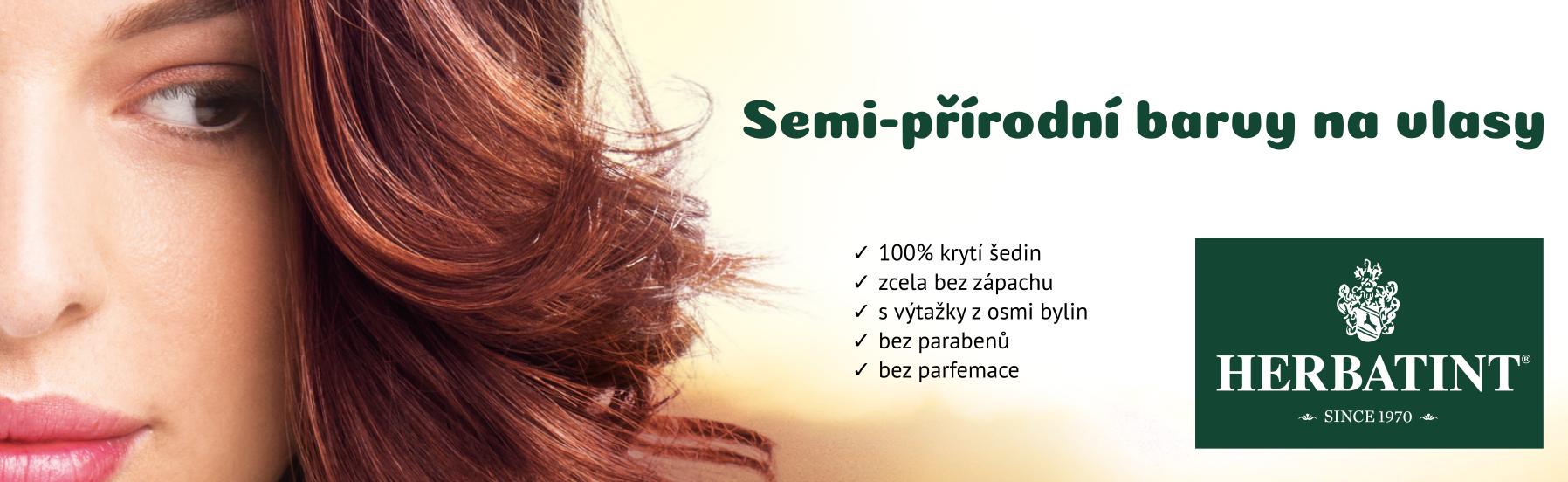 Semi-přírodní barvy na vlasy Herbatint