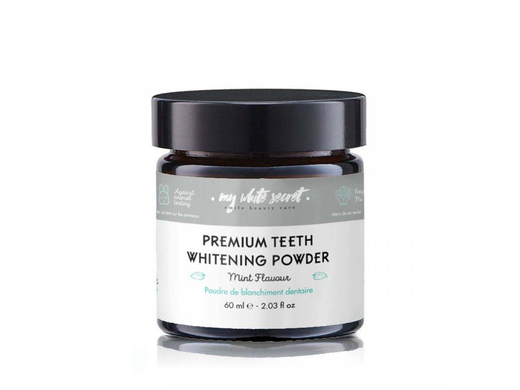 My White Secret Pudr pro bělení zubů s aktivním uhlím