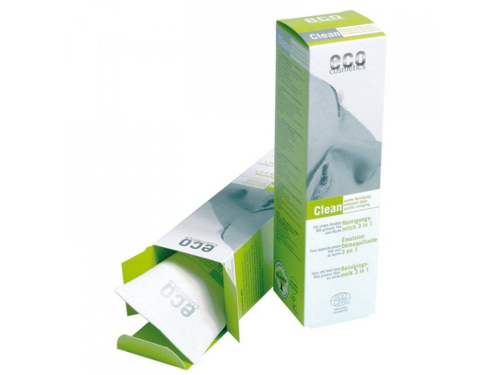 Eco Cosmetics Čistící mléko 3v1