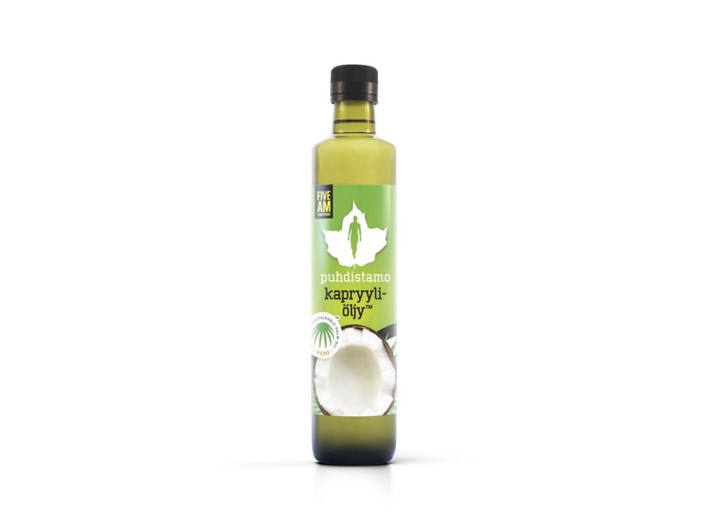 Puhdistamo Caprylic Oil, 500ml (Olej s kyselinou kaprylovou)