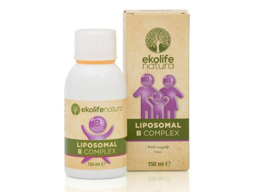 Ekolife Natura Liposomal B Complex, 150ml (Lipozomální B-complex)