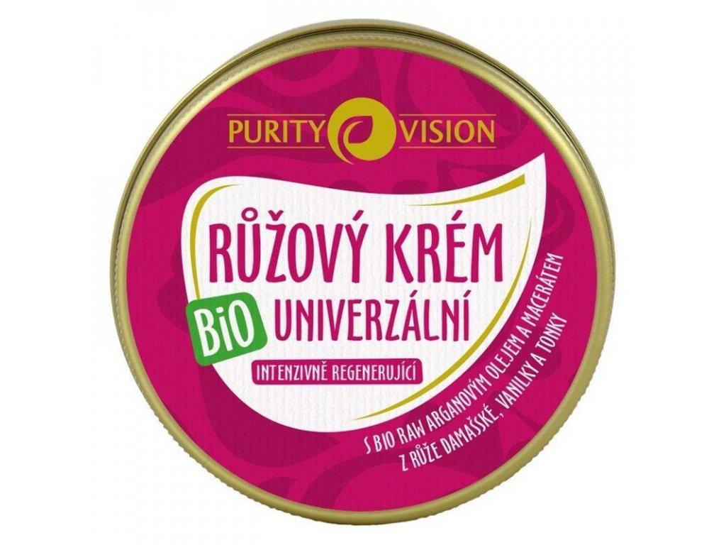 Purity Vision bio růžový krém univerzální, 70ml - bio přírodní česká kosmetika