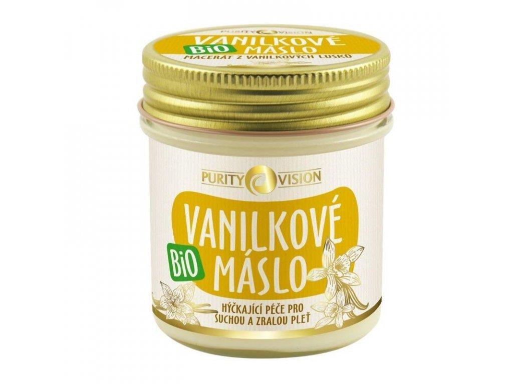 Purity Vision bio vanilkové máslo - česká přírodní kosmetika