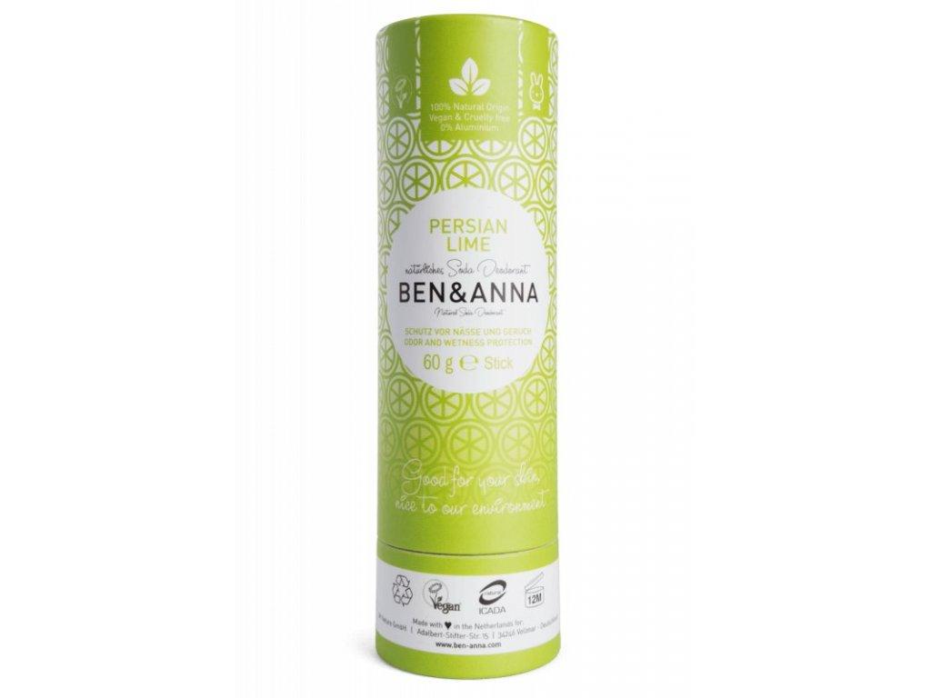 Ben & Anna Tuhý deodorant - Perská limetka