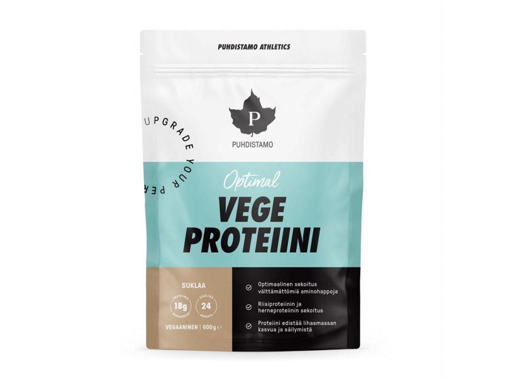 Vegan protein čokoláda, Puhdistamo
