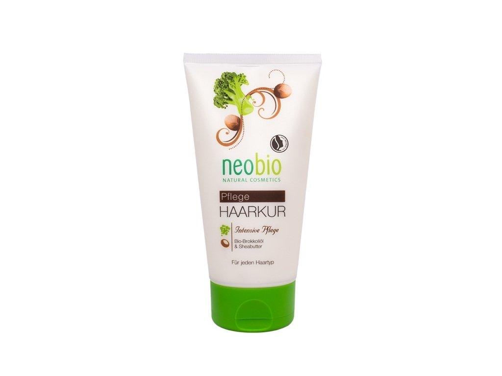 Neobio Intenzivní kúra na vlasy bio brokolicový olej & karité máslo