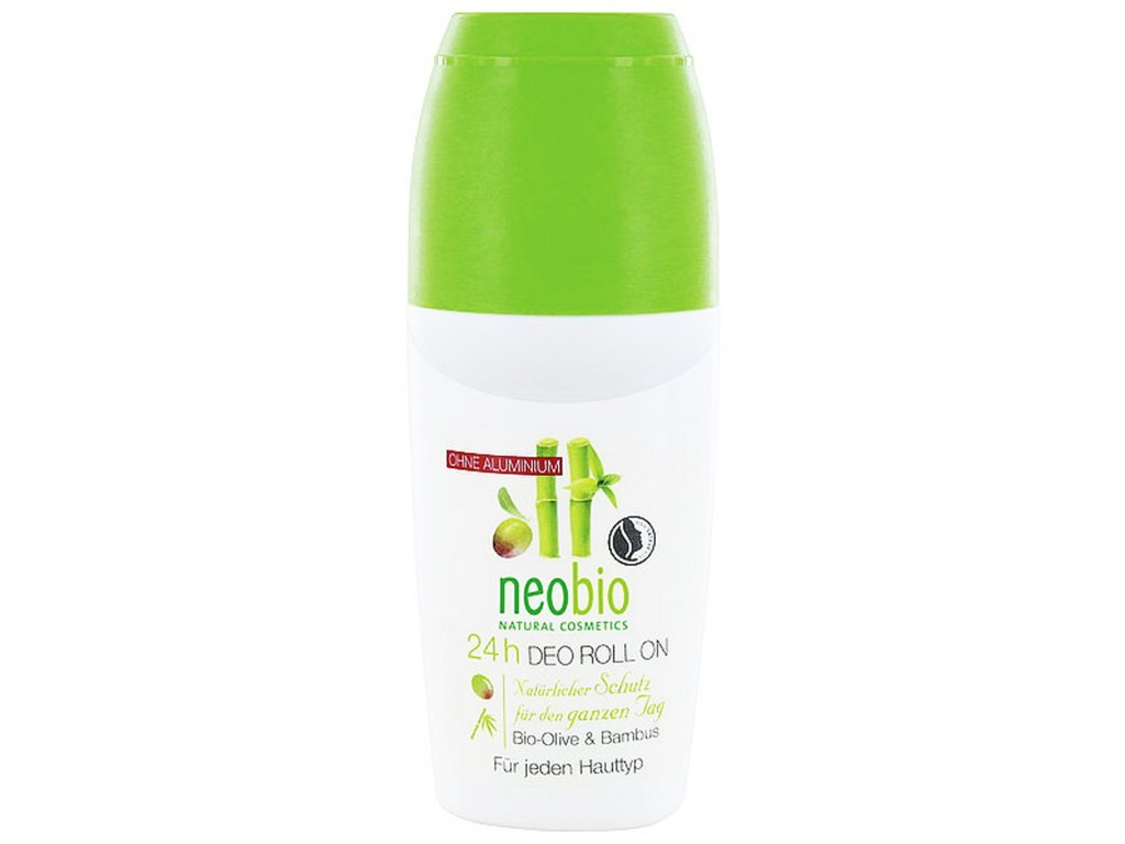 Neobio 24h Deo roll-on bio oliva & bambus