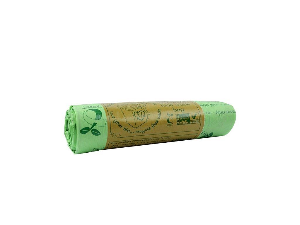 Kompostovatelné pytle do koše, 10l - 25ks