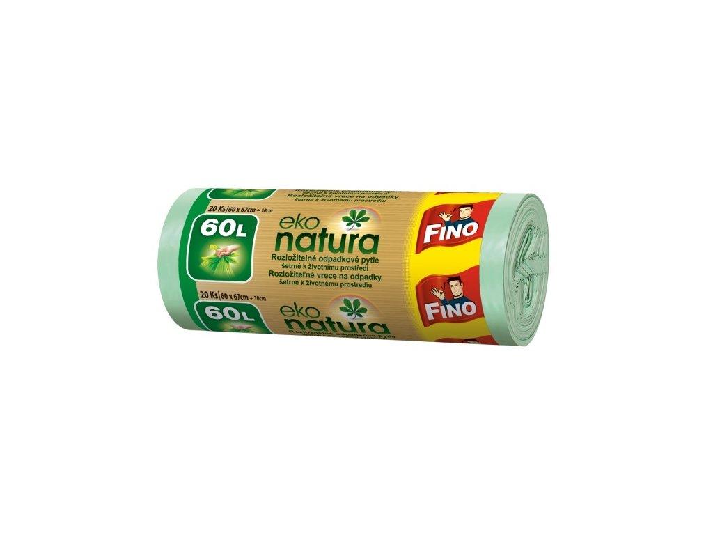 Fino Eko natura Pytle na odpad, 60l - 20ks