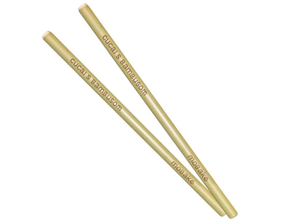 Mobake Sada bambusových brček, 2 ks
