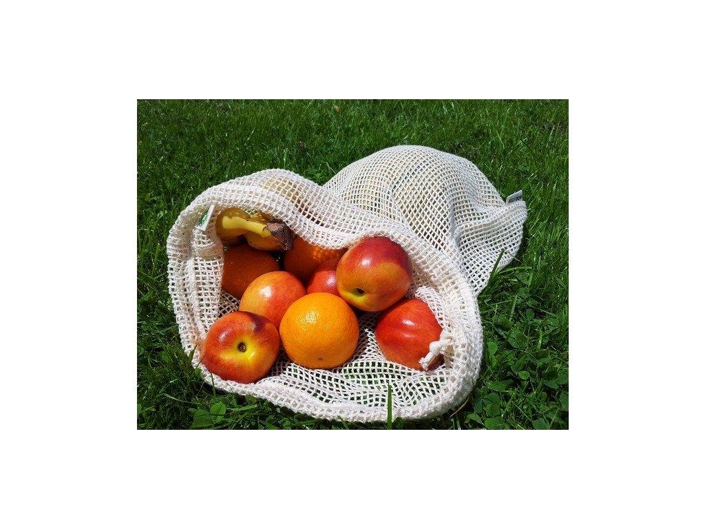 Re-Sack Net - síťovinový sáček na ovoce a zeleninu, 2ks