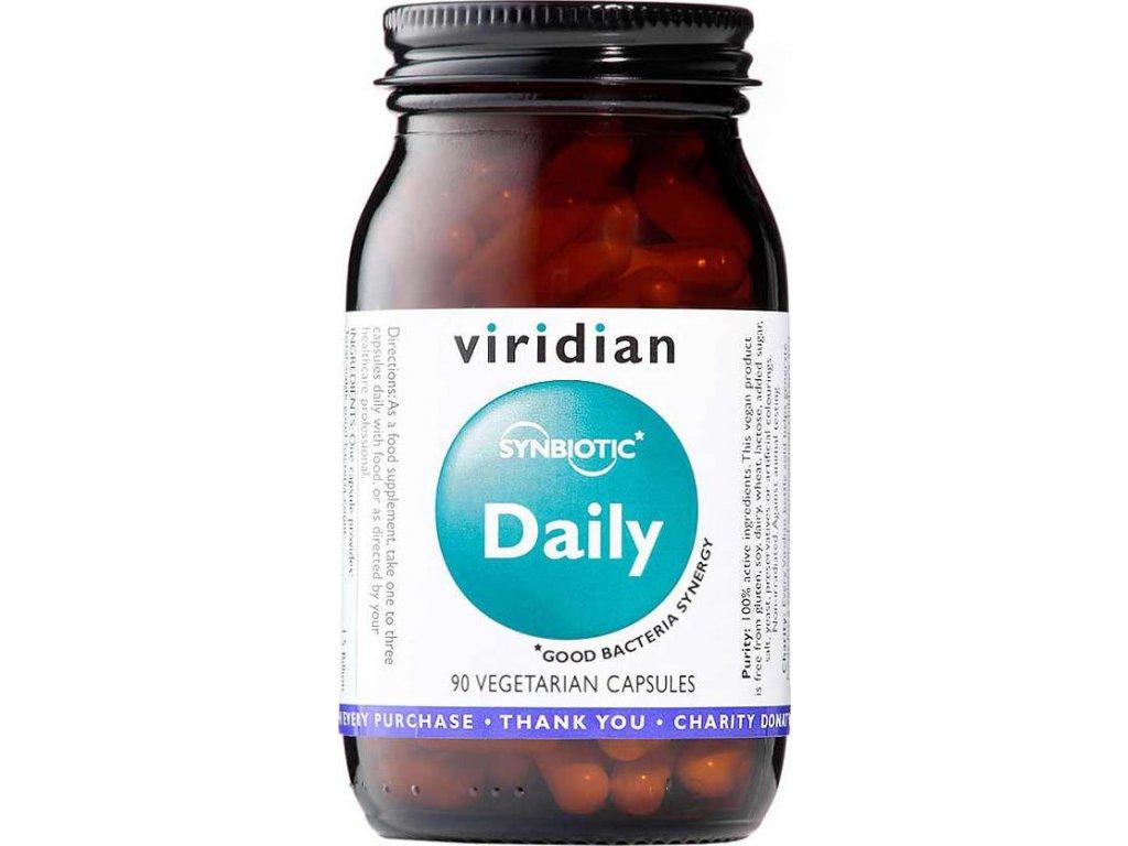 Viridian Synerbio Daily, 90 kapslí