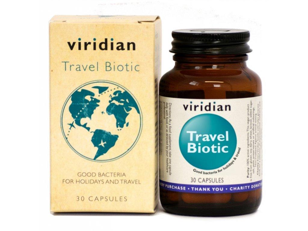 Viridian Travel biotic, 30 kapslí