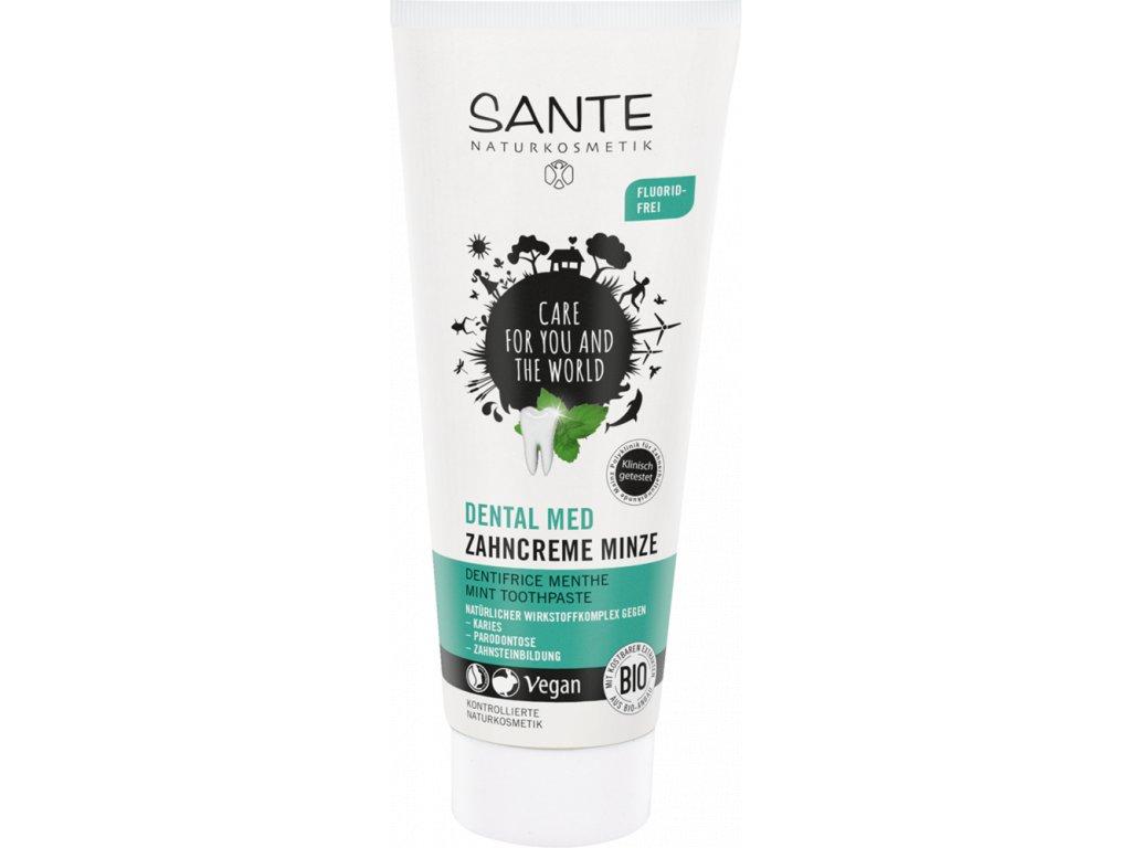 Sante Dental Med Zubní krém máta