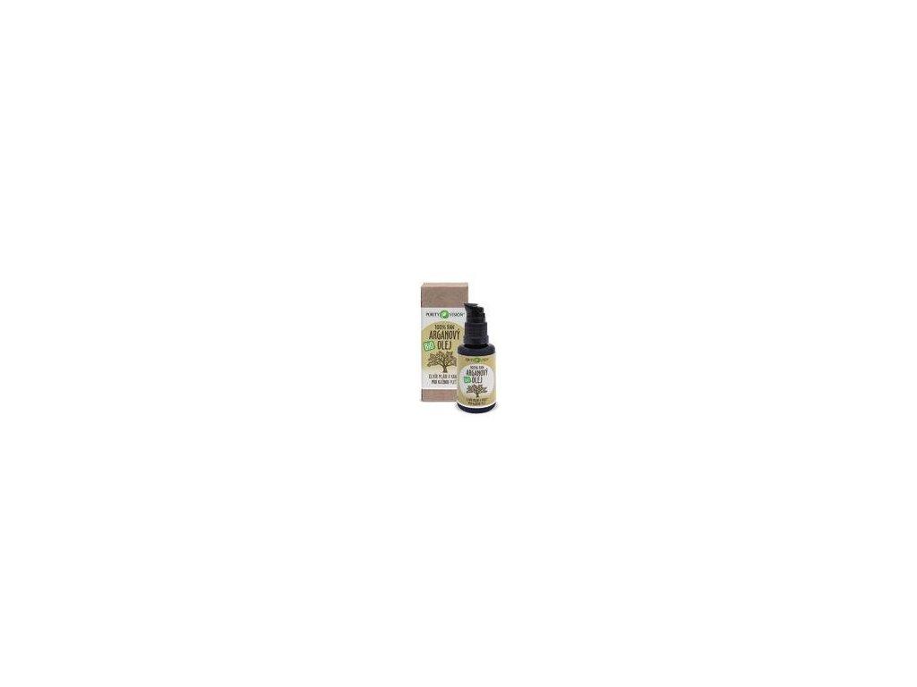Purity Vision Raw bio arganový olej, 30ml