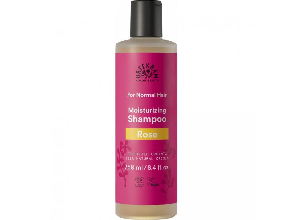 Urtekram Šampon růžový, 250ml - přírodní kosmetika