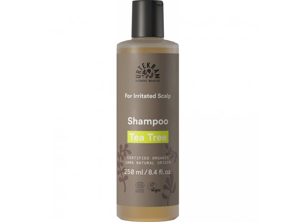 Urtekram Šampon tea tree, 250ml - přírodní kosmetika
