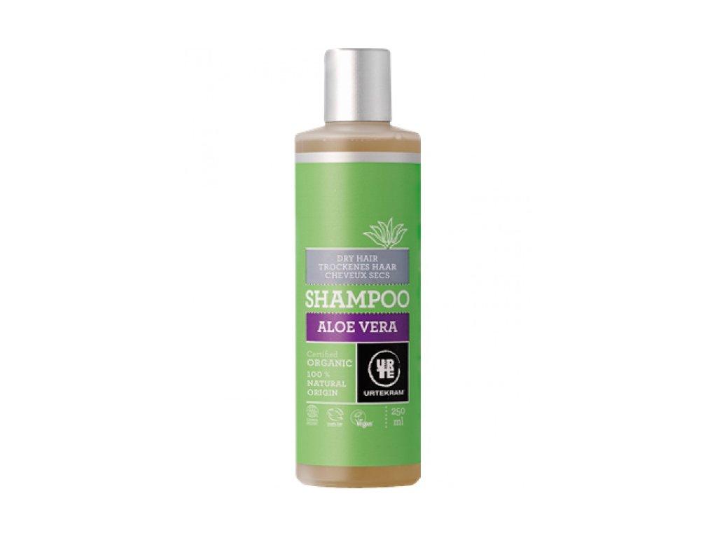 Urtekram Šampon aloe vera pro suché vlasy, 250ml