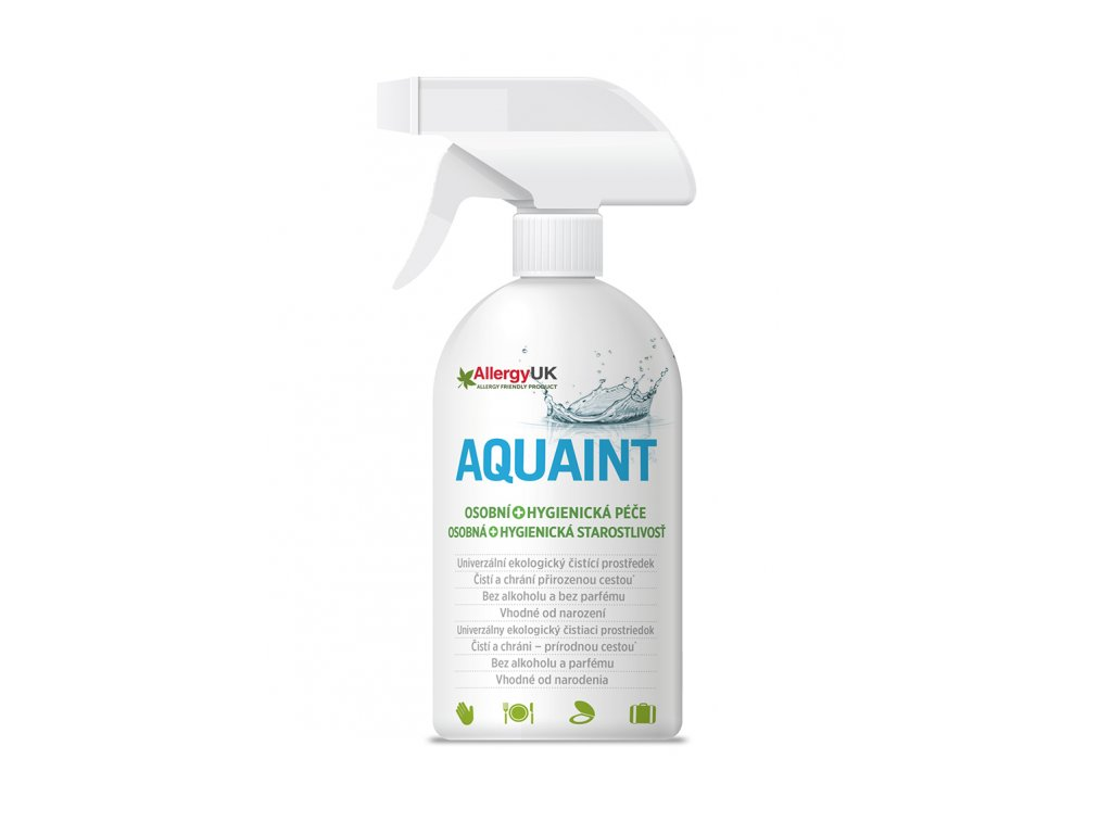 Aquaint 100% ekologická čisticí voda, 500 ml