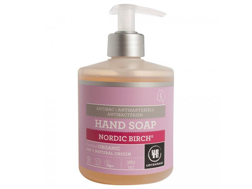 Urtekram Tekuté mýdlo na ruce Severská bříza antibakteriální, 380ml