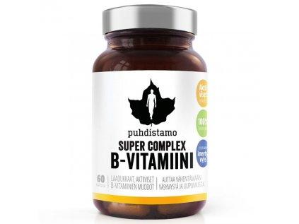 Puhdistamo Super Vitamin B Complex, 60 kapslí