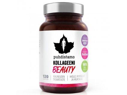 Puhdistamo Collagen Beauty, 120 kapslí (Kolagenové peptidy Verisol®)