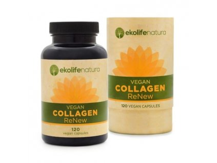 Ekolife Natura Vegan Collagen ReNew, 120 kapslí