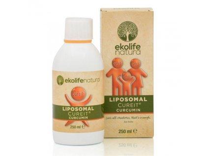 Ekolife Natura Liposomal CureIt® Curcumin, 250ml (Lipozomální CureIt® kurkumin)
