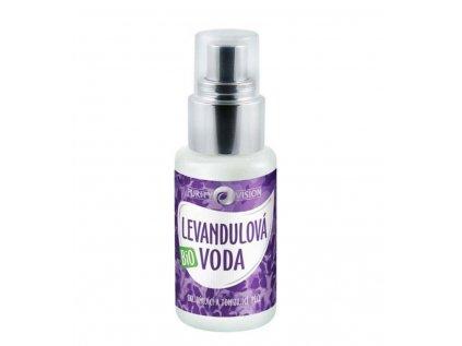 Purity Vision bio levandulová voda, 50ml - květinová voda pro citlivou pokožku