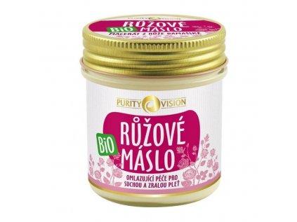 Purity Vision bio růžové máslo - česká přírodní bio kosmetika