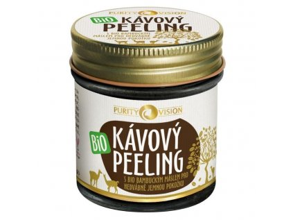 Purity Vision bio kávový peeling