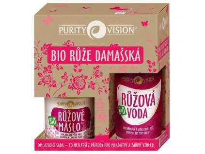 Purity Vision Bio omlazující sada - bio přírodní kosmetika