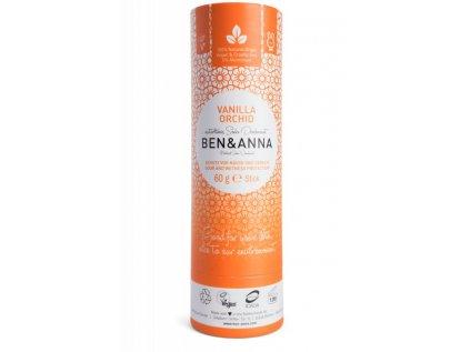 Ben & Anna Tuhý deodorant - Vanilková orchidej
