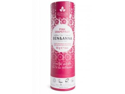 Ben & Anna Tuhý deodorant - Růžový grapefruit
